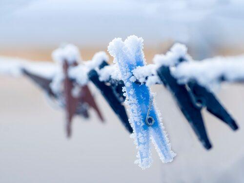 Hänga tvätt utomhus mitt i vintern? Jajjemän!