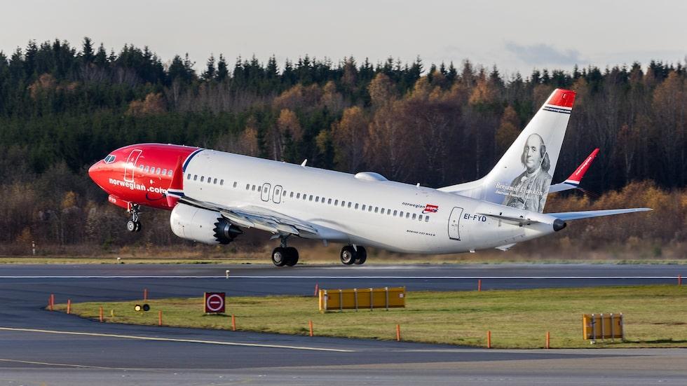 Flygbolaget Norwegian har 18 Boeing 737 Max 8 i sin flotta. Under tisdagseftermiddagen stoppade flygbolaget alla flighter med den olycksdrabbade flygplansmodellen.