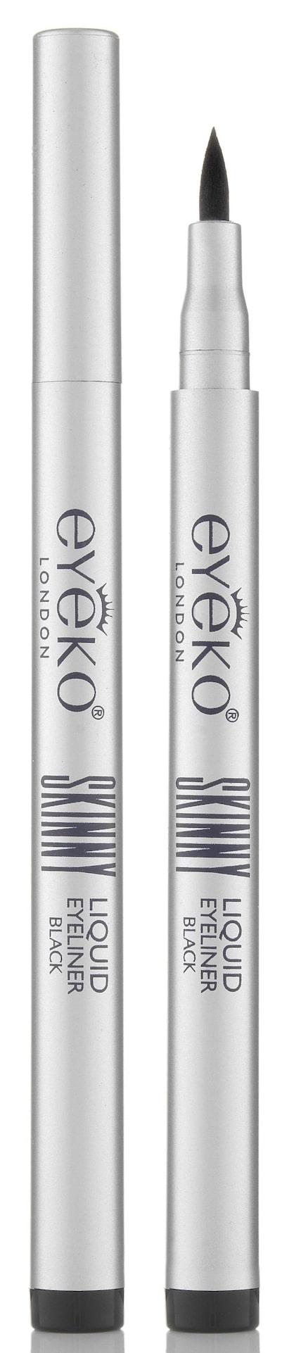 Eyeliner från Eyeko, smular och kladdar inte, håller i upp till 12 timmar. Eyeko Skinny Liquid Eyeliner, 119 kronor, Kicks.se.