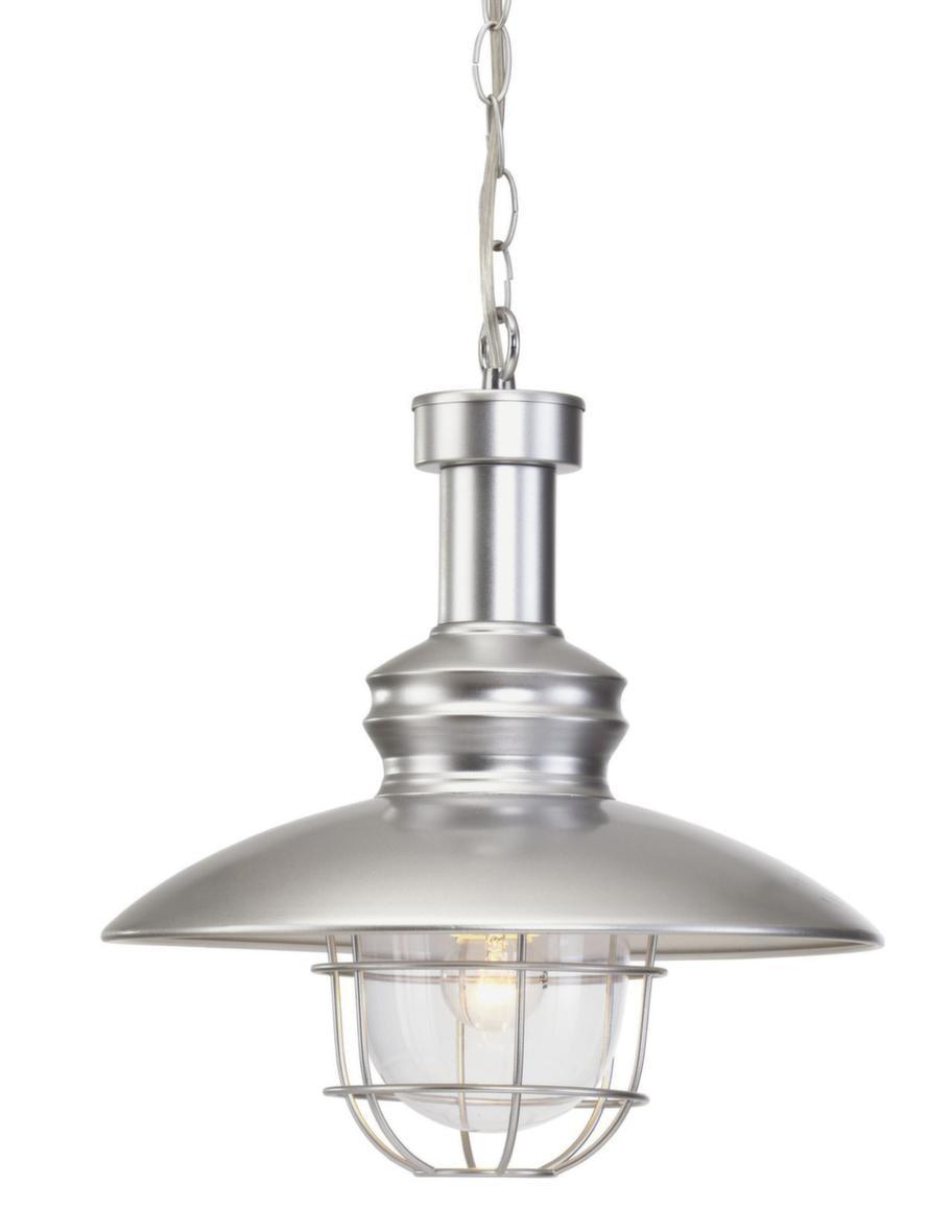 I taket<br>Lampa av metall och glas, 40 centimeter hög, 799 kronor, Jotex.