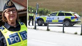 Polisens nya drag – efter stenkastningen på E65