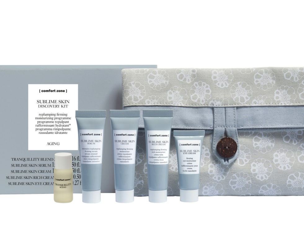 Sublime skin discovery kit, Comfort Zone.