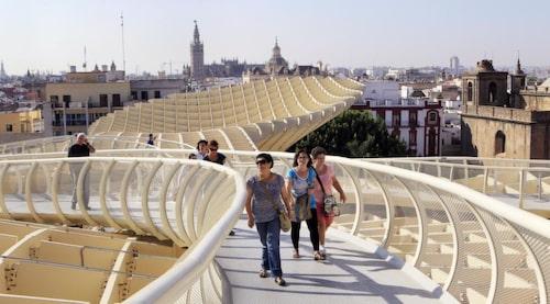 I Sevilla finns spännande akritektur.