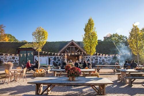I vanliga fall finns det restaurang med pannkaksbuffé i Skånelängan, nu får man äta medhavt här.