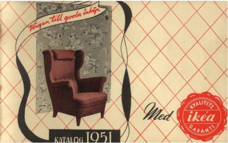 Första Ikea-katalogen kom 1951.