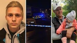 Vincent Hellner, 22, kniv- mördade småbarnspappan