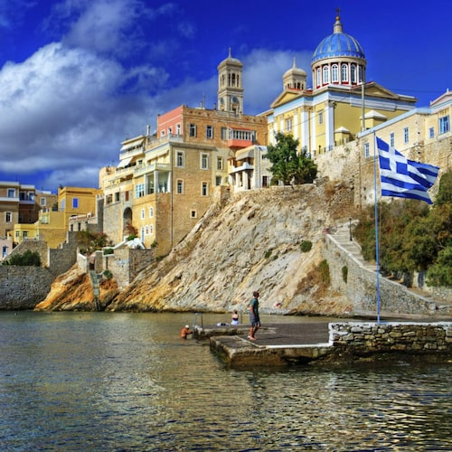 Syros är liten och behändig