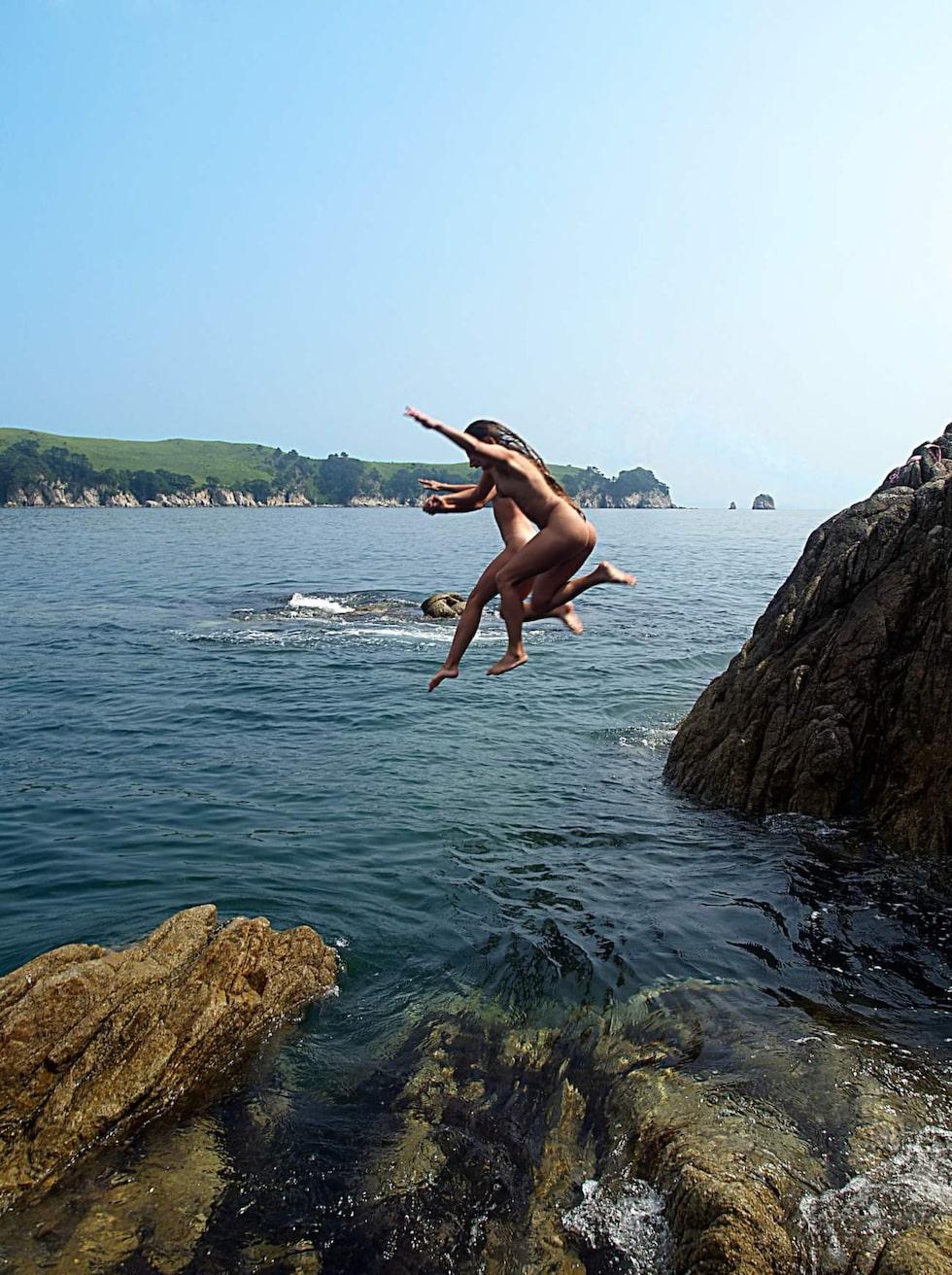 Många gillar att bada i bra mässingen.
