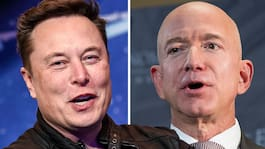 Elon Musks gliring till Jeff Bezos om vem som är rikast