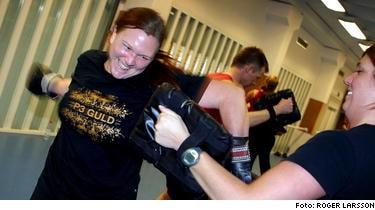 Helena slog bort sin övervikt. I dag väger hon 75 kilo - tack vare boxningsträning och hemlagad mat.