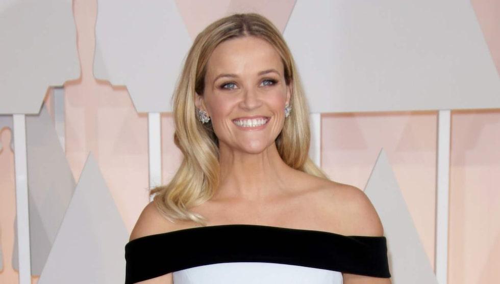 Hjärtformad ansiktsform - Reese Witherspoon.