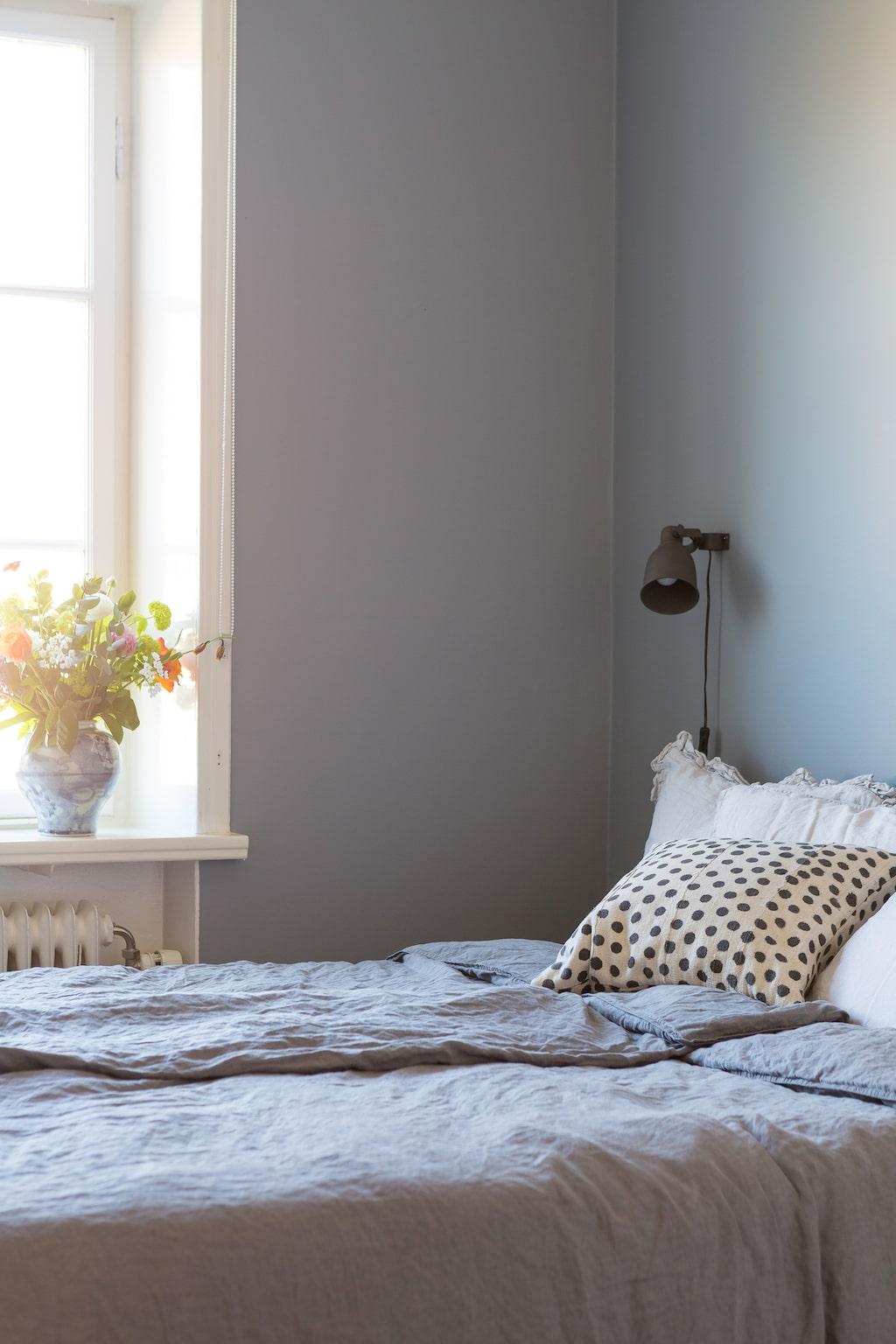 Sovrummet inbringar lugn.