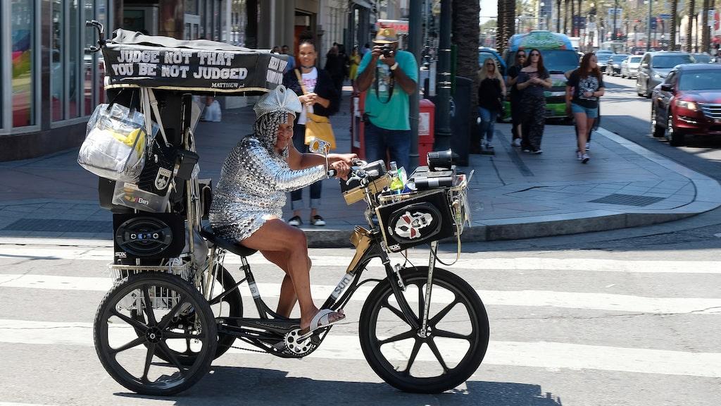 I New Orleans ser man många människor som vågar gå sin egen väg i livet.