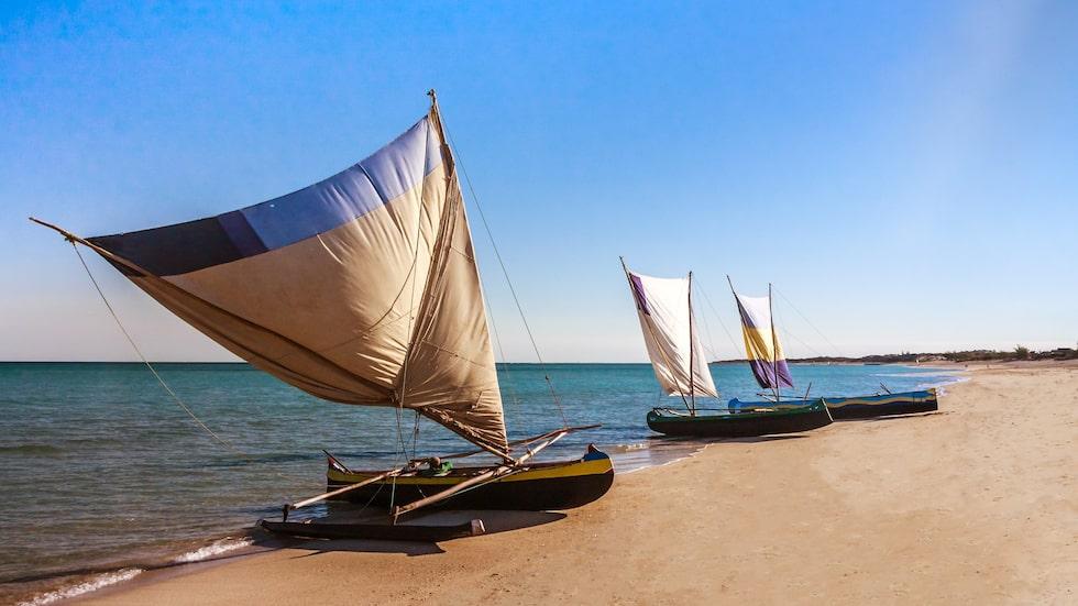 Även La Digue, Seychellerna, har stränder utöver det vanliga.