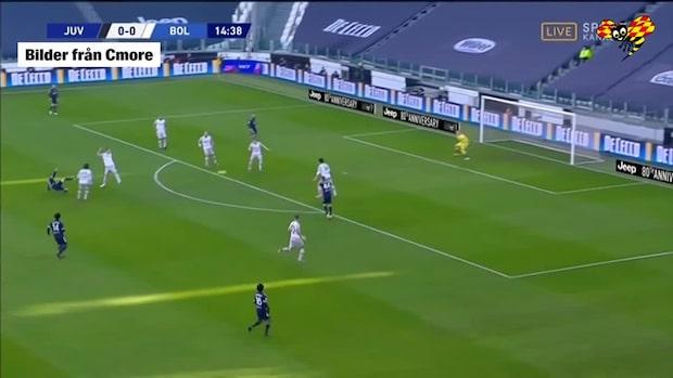 Turlig styrning när Juventus tar ledningen