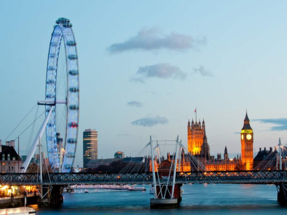 """The Big Smoke"" - London med flera."