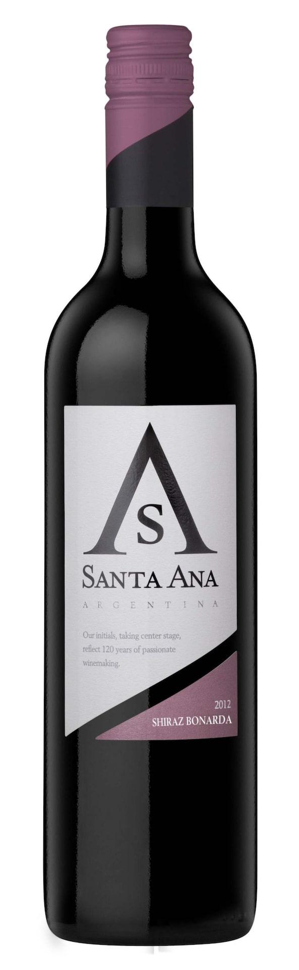 Santa Ana Shiraz Bonarda 2012 (2084) Argentina, 59 kr