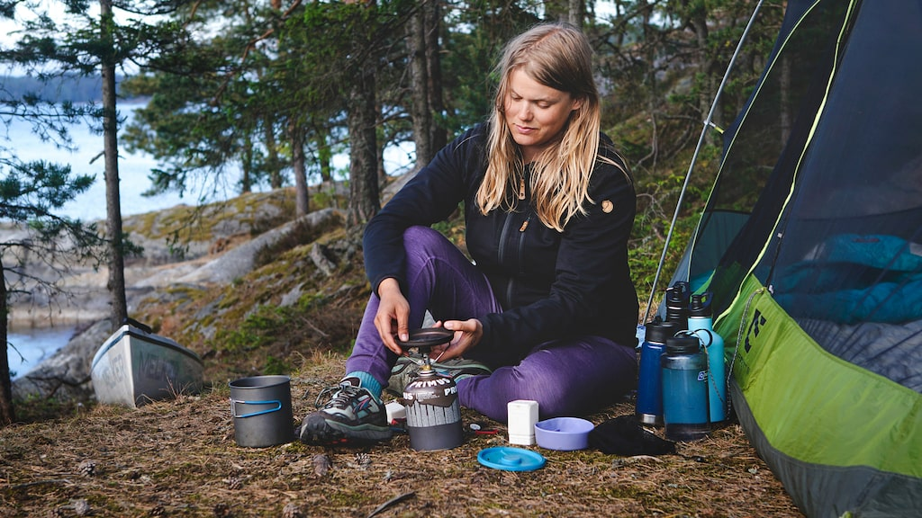 Linda Åkerberg, 33, ska ta sig från Smygehuk till Treriksröset i sommar.