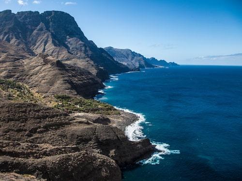 Gran Canarias västkust är vild och vacker.