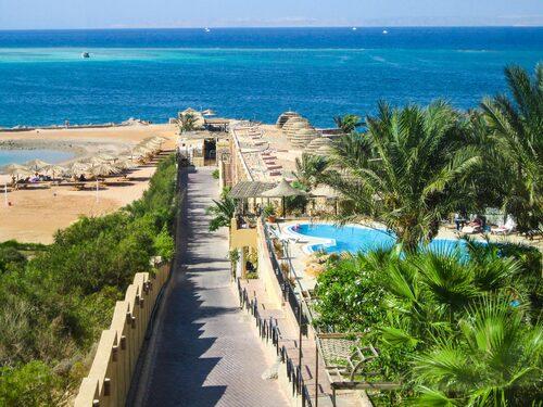 Ta en båttur till Giftun Island i Egypten.