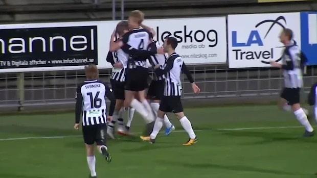 Highlights: Landskrona nära Superettan –vann första kvalmötet