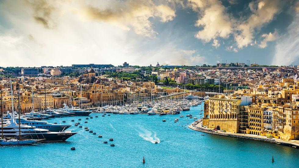 Vackra Valletta på Malta utnämndes till europeisk kulturhuvudstad 2018.