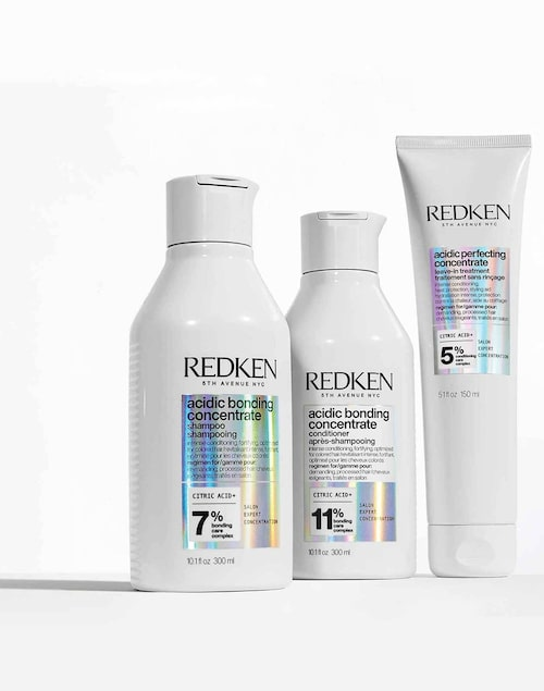 Redkens hårlagningsserie Acidic bonding concentrate.
