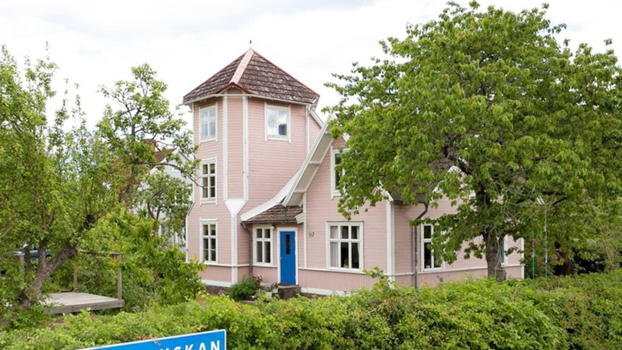 Hemnet kalmar villor visar upp pippi långstrump-villa i... leva & bo