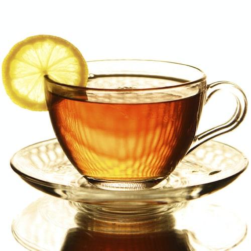 Unna dig en god kopp te. Gärna med en citronskiva till.