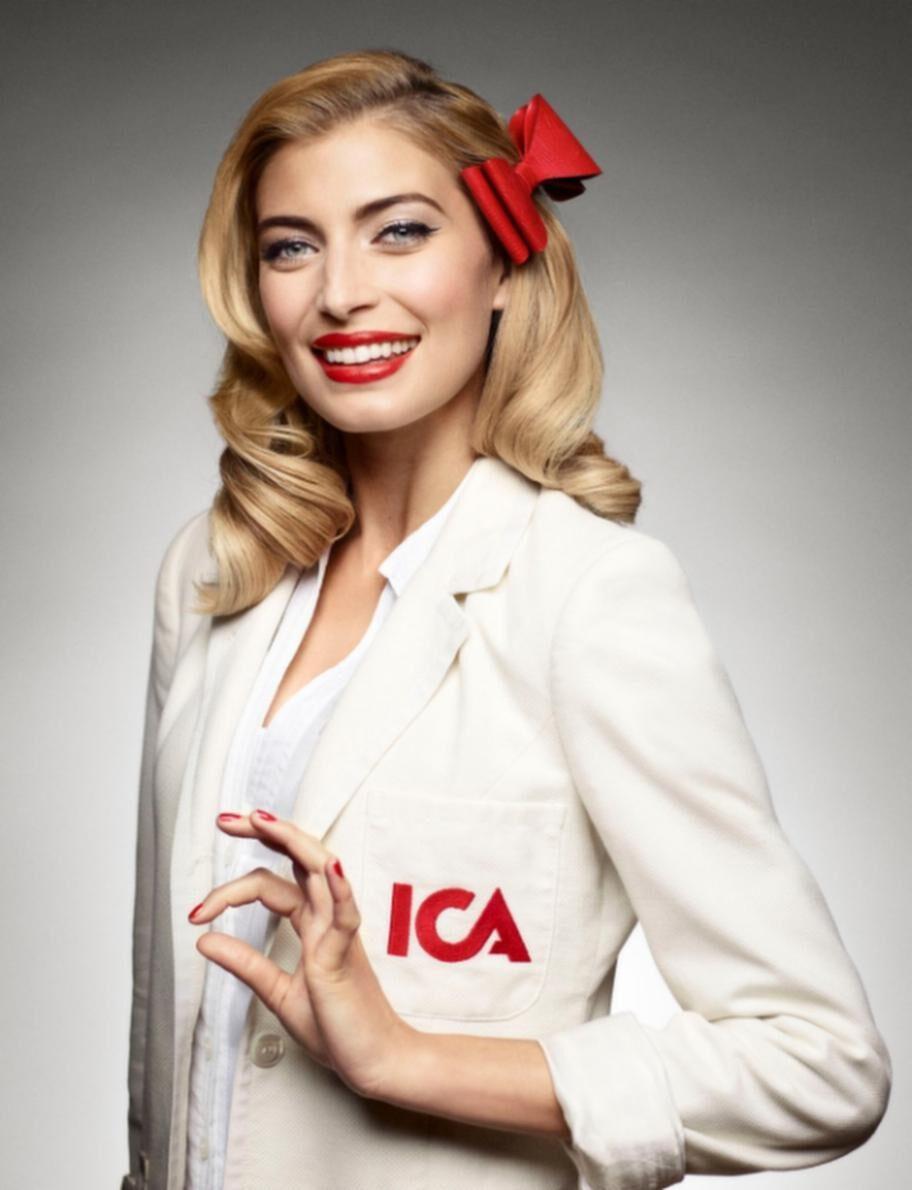Cecilia i ICA:s reklamfilm.