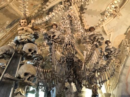 Kristallkrona, eller rättare sagt skelettkrona i Tjeckien