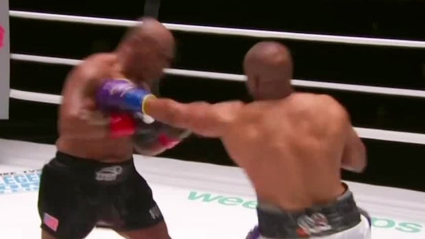 Se highlights från Mike Tysons comeback