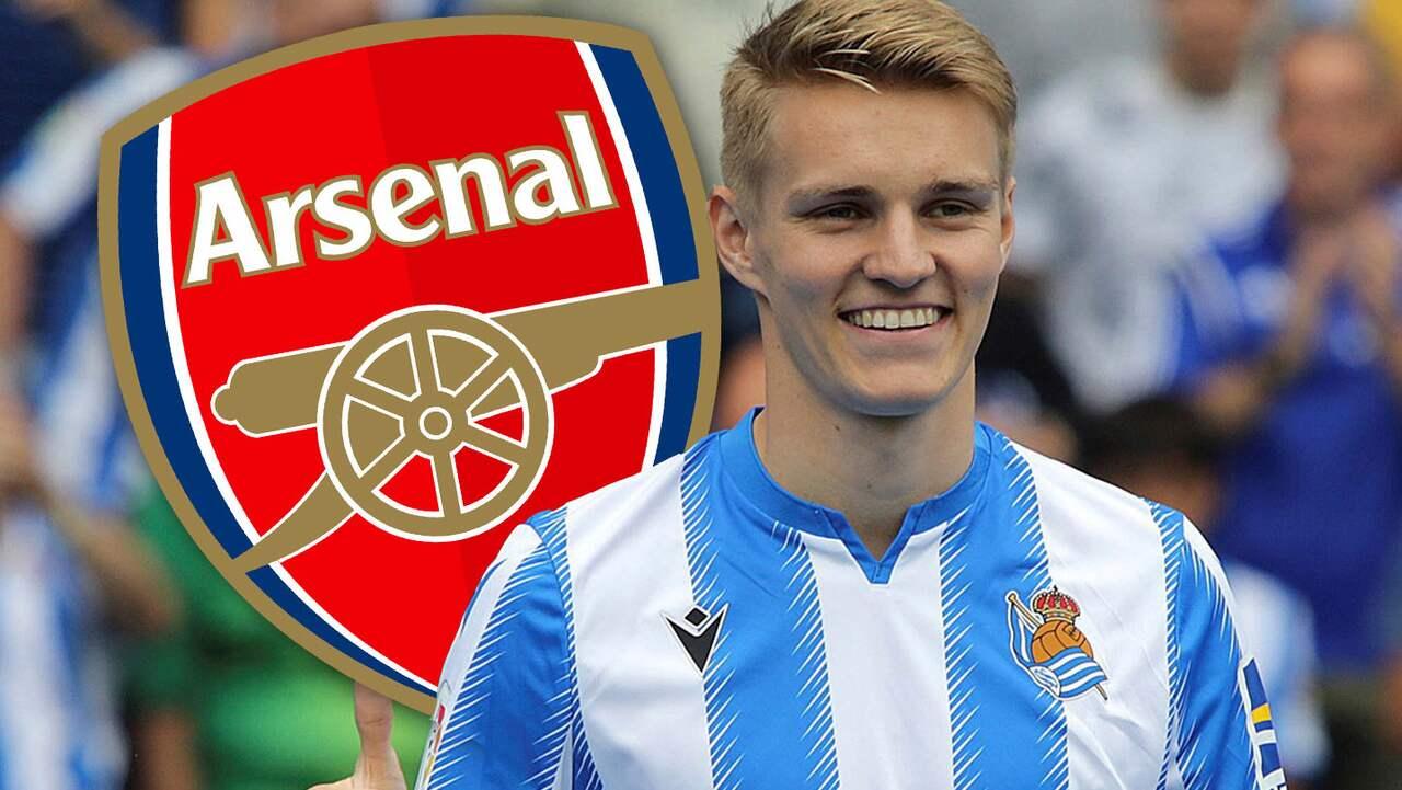 Martin Ödegaard lånas ut från Real Madrid till Arsenal
