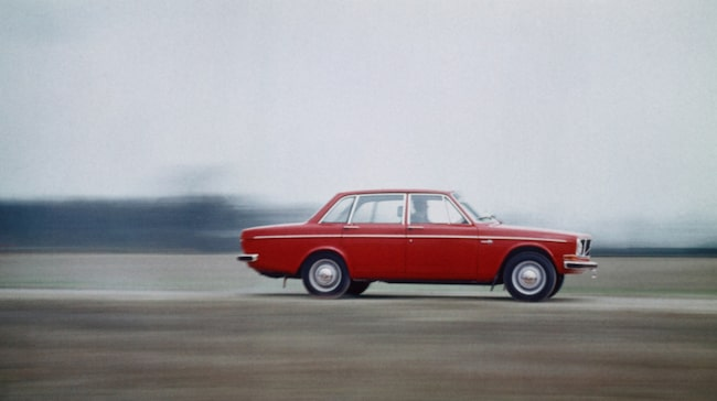 Volvo 142 från 1967.