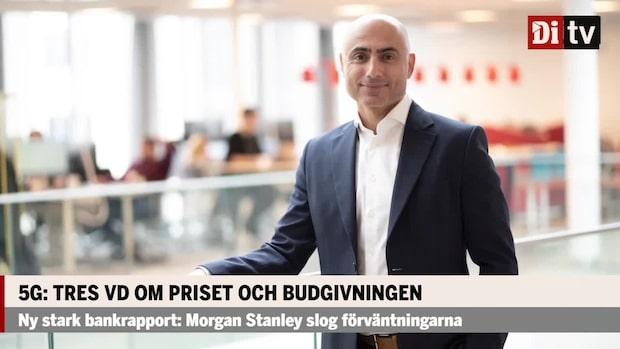 """Tre vinnare på svenska 5G-auktionen: """"Det är samhällets pacemaker"""""""