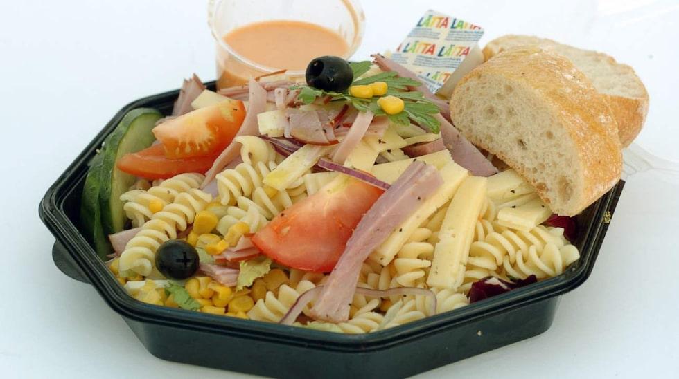 Undvik helt att äta färdigmat, pasta och bröd.