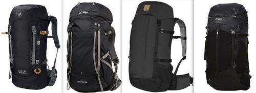 Här är de fyra ryggsäckarna i guiden nedan.