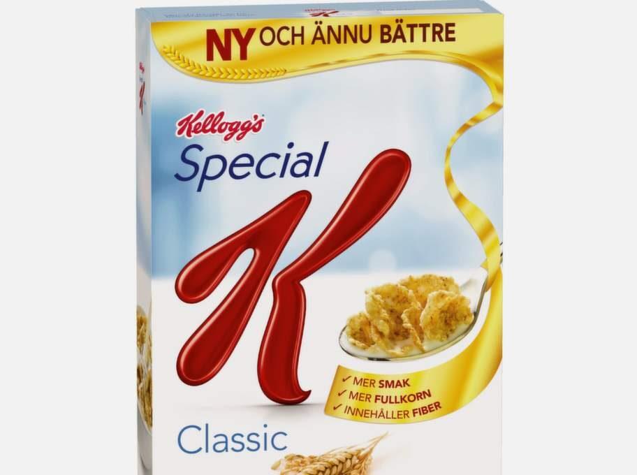 Kellogs Special K 50 gr, 2 tsk.