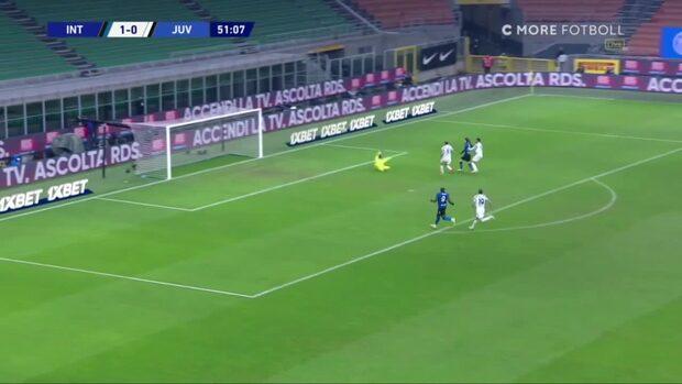Inter besegrade Juventus – bjöd på ett läckert avslut