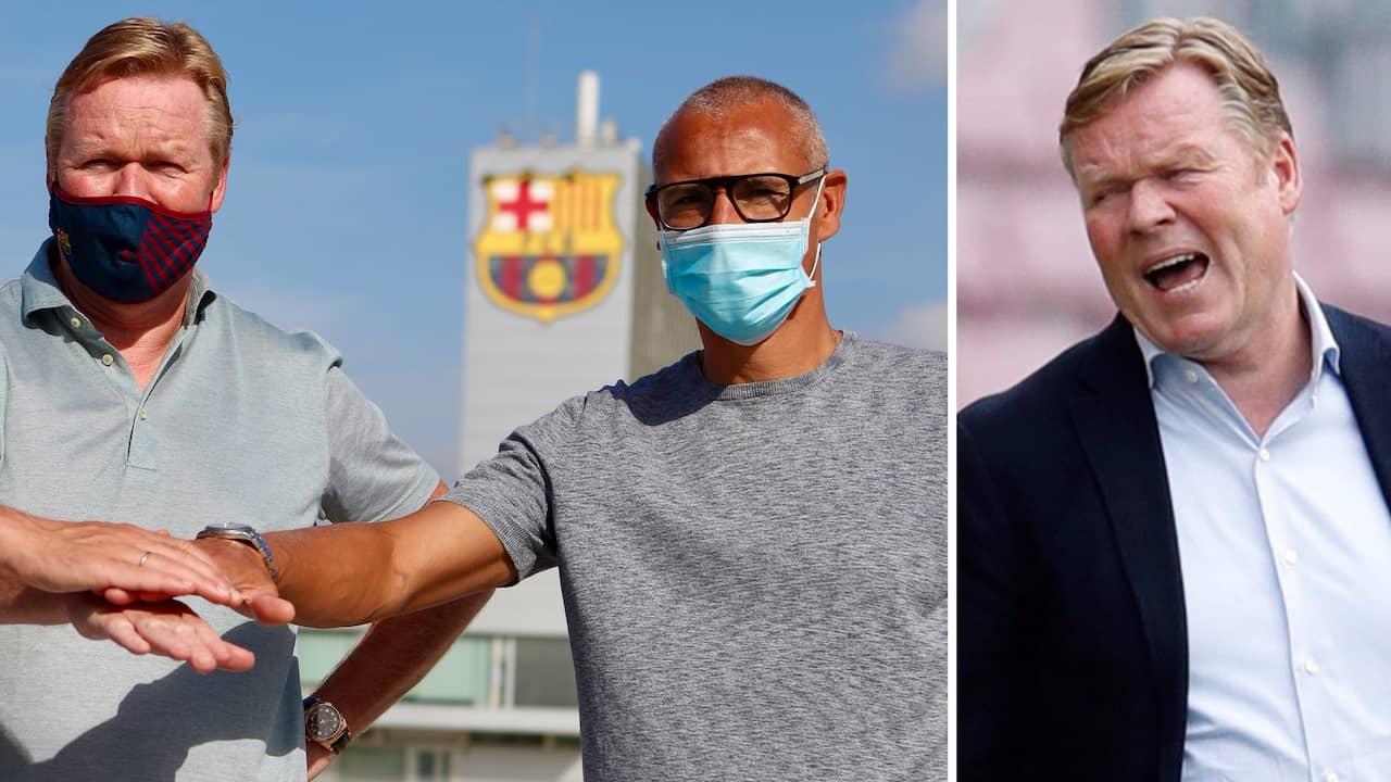 Uppgifter: Barça sparkar Koeman