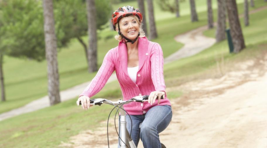 Du går ner i vikt och minskar risken för sjukdomar om du väljer att använda cykeln som transportmedel.