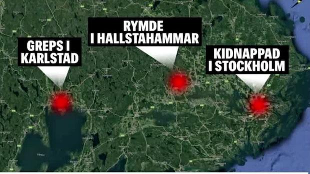 Kvinna kidnappad i Stockholm – flydde efter bilfärd på 13 mil
