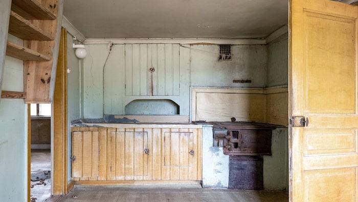 Köket från en annan vinkel.