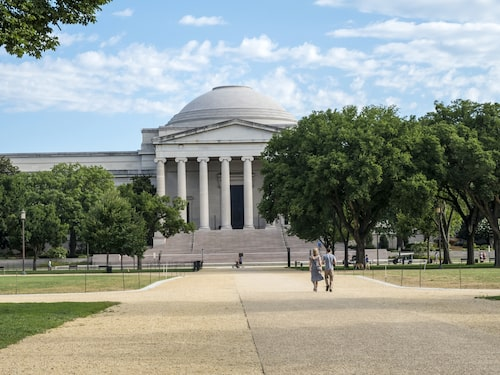 USA:s pampiga National Gallery of Art i Washington DC