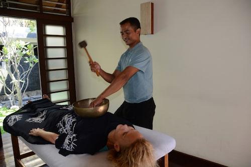 Massage är ett måste om man är på Bali.