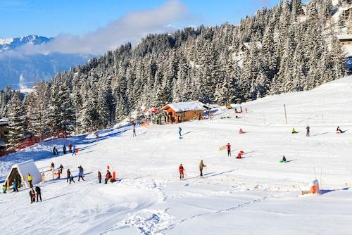 Les Diablerets har funnits långt innan man kom på att man kunde åka skidor nerför bergen.