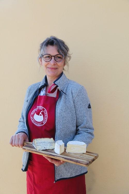 """""""Det går nog inte en dag utan att jag äter ost"""", säger Anna Kälvebrand."""
