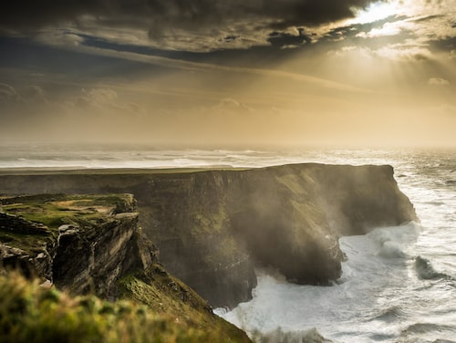 Cliffs of Moher är en av Irlands mest imponerande platser.