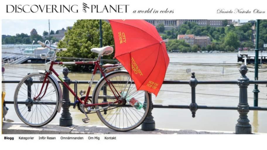 """Juryns specialpris: """"Discovering the planet - a world in colors"""" som drivs av Daniela Nasteska Olsson."""