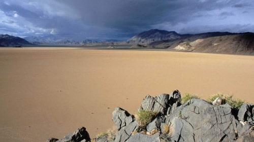 Death Valley har fått föreställa Lukes hemplanet Tatooine.